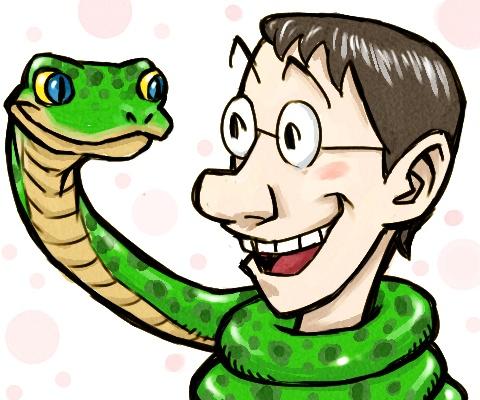 ヘビとオイラ.jpg